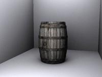 free barrel d 3d model