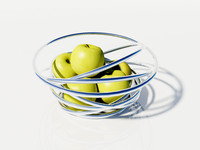 3ds max chrome bowl