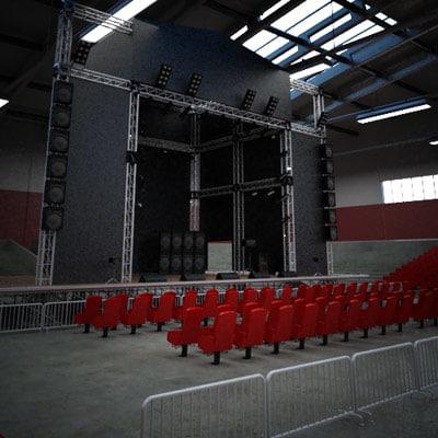 maya concert stage indoor  maya concert st...