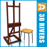 maya easel chair