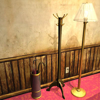 Hatrack, lamp and prop models 01