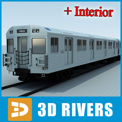 t1 train 3d model - T1 train by 3DRivers... by 3DRivers