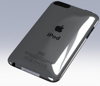 3D iPod Touch 2G in SolidWorks