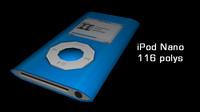 free ipod nano 3d model