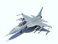 JF-17  thunder Low poly