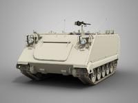 3d model m113 army