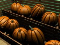 3d pumpkin garden