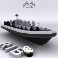 Rigid Inflatable Boat 02