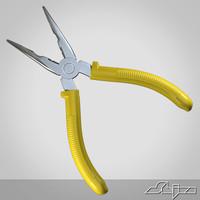 3d pliers model