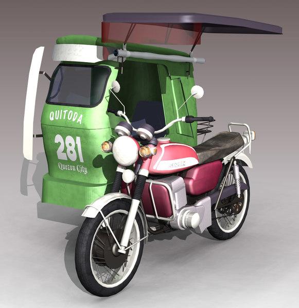 Philippine Tricycle Car Interior Design