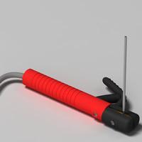 gouging torch 3d max
