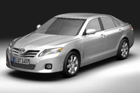 3d model toyota camry