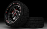 3d market alloy rims tyre model