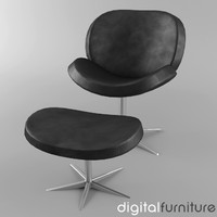 armchair digital 3d max