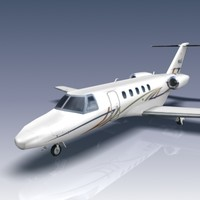 citation cj4 aircraft jets 3d 3ds