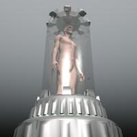 3d clonning chamber model