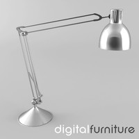 3ds max desk lamp