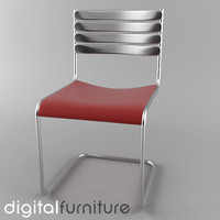 3dsmax dining chair