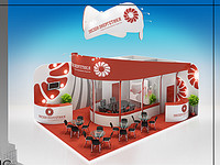 display booth 01 3d model