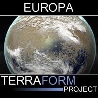 Terraformed Europa