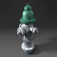hydrant 3d obj