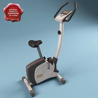 3d model gym bike