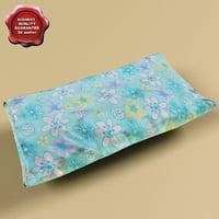 pillow v4 3d max