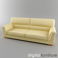 sofa digital 3d model