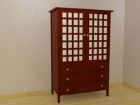 armoire 3d max
