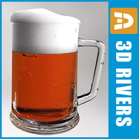 Beer mug 02 by 3DRivers