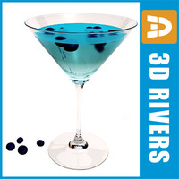 Blueberry martini by 3DRivers