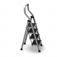 3d ladder stepladder