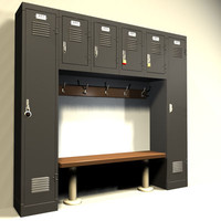3ds max locker 03