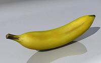 3d model of banana