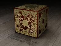 hellraiser puzzle box 3d obj