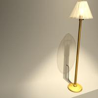3d standup lamp 01