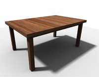 Table (e.g. wooden)