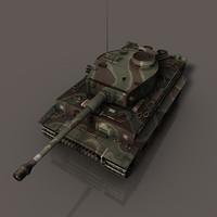 Tiger 1 (c4d).rar