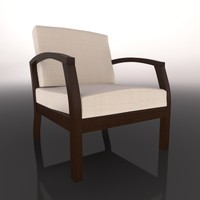 chair silla c4d