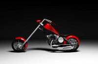 3d model v-ray bike droga