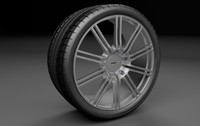 Aston Martin DBS Wheel