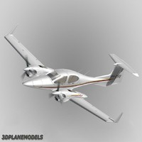 Diamond DA42 Twin Star Private livery 3