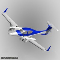 Diamond DA42 Twin Star Private livery 6