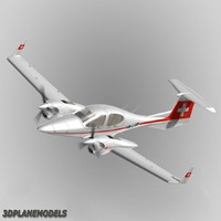 diamond da42 twin star 3d model