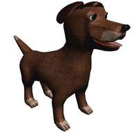 puppy dog cartoon character max