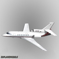 3ds max dassault falcon 50 private