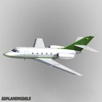 3d model dassault falcon 20 200