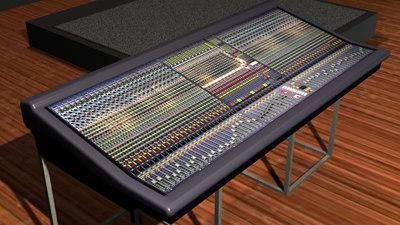 3d midas heritage 3000 mixing model. Black Bedroom Furniture Sets. Home Design Ideas
