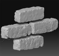 3d model handmade brick