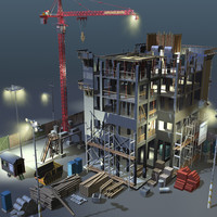Construction 02 NIGHT SCENE